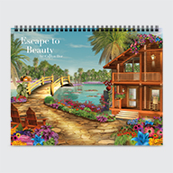 Escape to Beauty by Caplyn Dor - Calendar - Cover