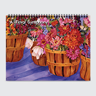 A Floral Symphony by Jan Ford - Calendar - Cover